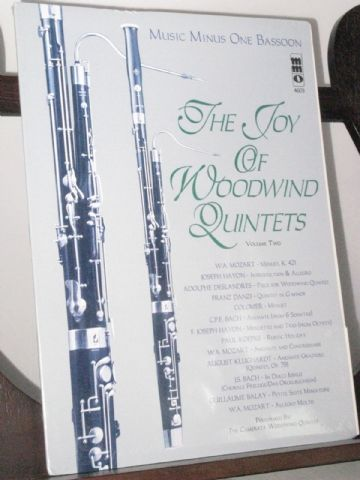 The Joy of Woodwind Quintets Vol 2 - Music Minus One (Bassoon)